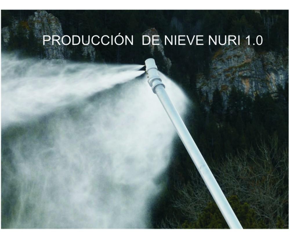 PRODUCCIÓN DE NIEVE NURI 1.0
