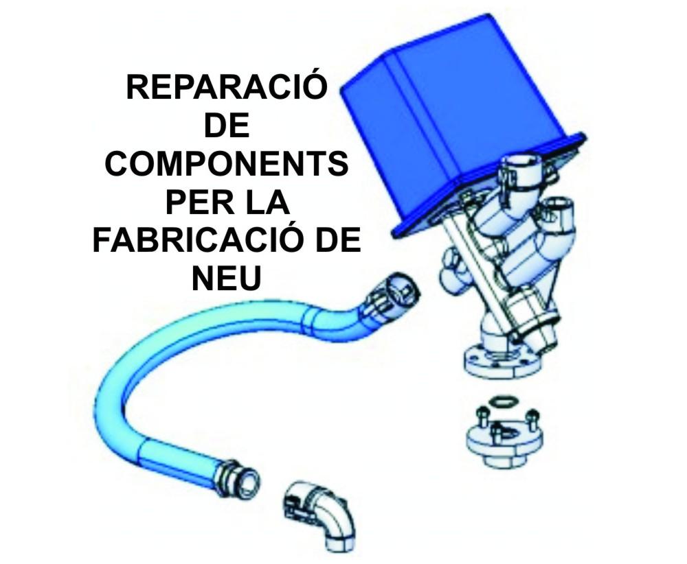 REPARACIÓN DE PRODUCTOS DE NIEVE ARTIFICIAL